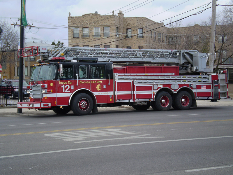 Chicago Fire Department         Truck Companys